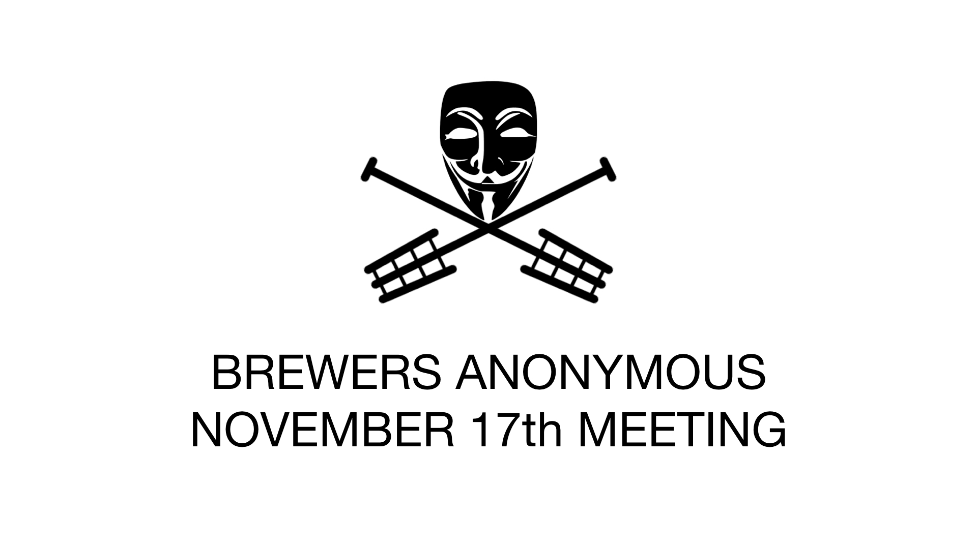 November Meeting Slides