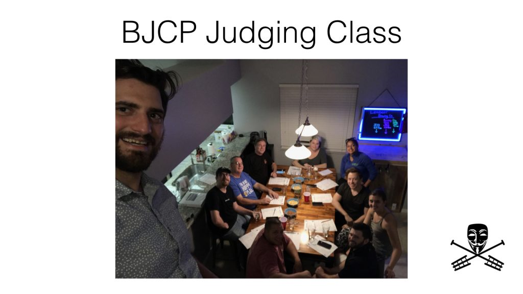 Brewers Anonymous BJCP Training Class
