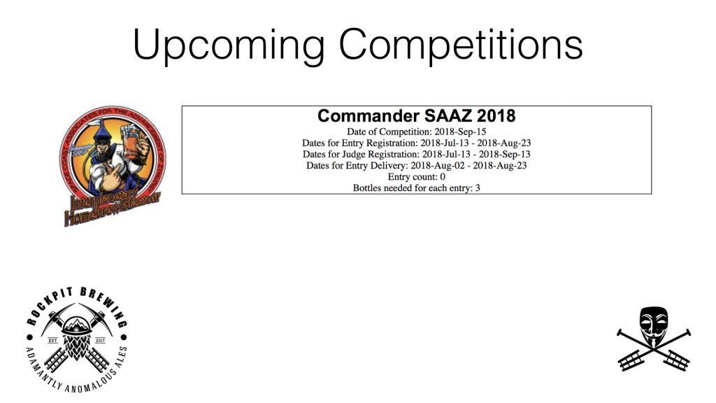 Commander Saaz 2018