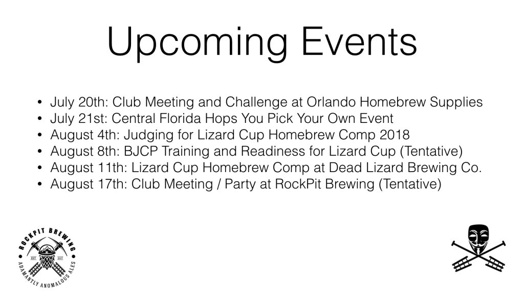 Upcoming events for Brewers Anonymous in Orlando, Florida