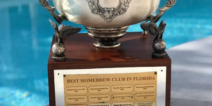 Hombrew Club of the year trophy